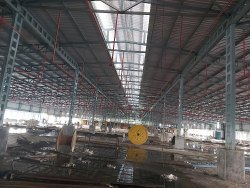Prefab Steel Industrial Roof Shed