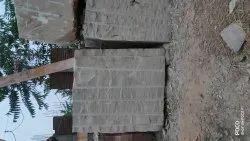 Temple Sandstone White Stone Block karauli, Size: 7'x4'x5'
