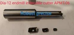 Black 10 Onwards Wex Indexable Insert End Mills And Shoulder Milling Cutters
