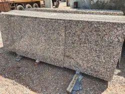 Brown Polished Pachonwara Granite, For Flooring, Thickness: 15-20 mm