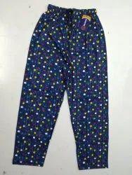 Cotton Printed Ladies Pyjamas Pant, Free Size