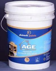 年龄Protec High Sheen优质乳液涂料,包装类型:桶,包装尺寸:500ml-20Litre