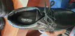 Black Mens Official Shoes