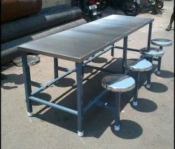DSB Silver Canteen Dining Table