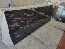 Rajasthan Fish Black Granite, Slab, Thickness: 15-20 mm