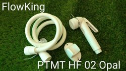 Flow King Off White PTMT Health Faucet, For Bathroom