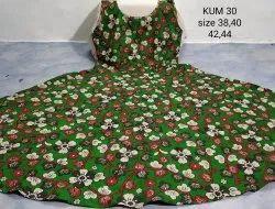 Kalamkari Cotton Umbrella Cut Kurti