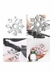 High Speed Steel Hansikable 19 in 1 Snowflake Multifunctional tool