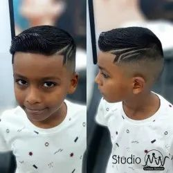 Undercut Fade And Crew Cut Haircut Services For Mens