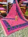 Handloom Embroidery Work Sarees