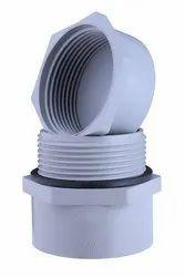 PVC Male Set adapter, Size: 140mm