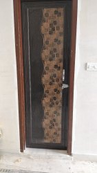 Glossy Hinged PVC Panel Door
