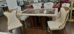 Marble Dining Table 1 Dinning Table 6 Chair
