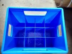 Square Solid Box Plastic Crates, For Storage, Model Name/Number: 1000 Ml And 500 Ml