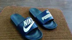 Black Flip Flops, Size: 6 To 10