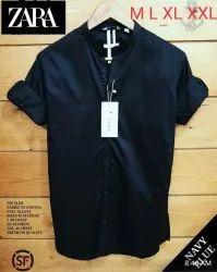 Zara Men Plain Shirts, Size: Mention