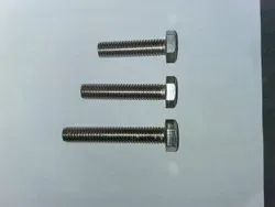 Inches ( Bsw)threads Hexagonal Stainless Steel Bolt, For Industrial, Material Grade: 202 Grade
