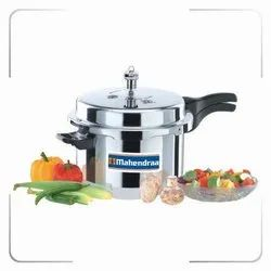 Mahendraa Silver Pressure Cooker, For Home