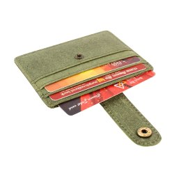 Hunter leather card case