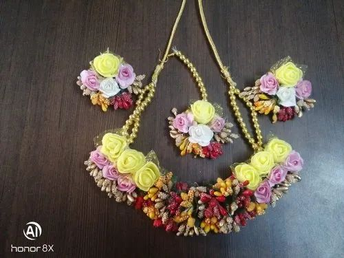 Artificial Floral Jewellery