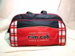 Black,Red Polyester Bag, Capacity: 15 Approx