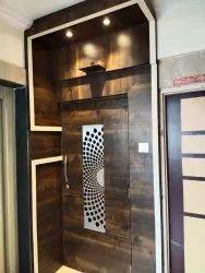Modular Kitchen & Wardrobe Flat Interior Designing Service