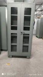 Mg Grey Glass Door Almirah