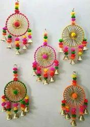 Multicolor Wood Decorative Arts, Size/Dimension: 15 Inches