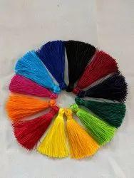 Silk Tassels, For Kurti, Size: 5cm