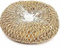 Vettiver Root Solid Vetiver Scrubber, Spherical, Packaging Size: 1 Kg