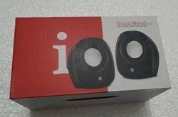 Black Iball Speaker 2.0 Sound Wave, 310 G, Usb