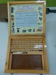 Interchangeable Steel Type Punch Box Set