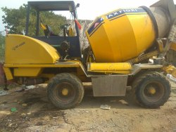 Used Ajax Fiori Self Loading Concrete Mixer