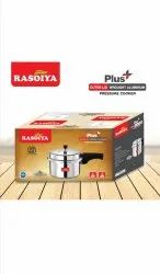 Non-induction Base Silver Pressure Cooker, For Home, Capacity: 2 Litres