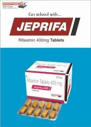 Rifaximin 400mg (Color Sunset Yellow And Titanium Dioxide)