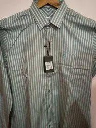 Signature Collar Neck Men Formal Shirts, Size: Xxl