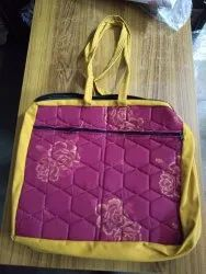 Srinika Products Multi Design Cotton Quilted Handbags, Size: Multiple Size