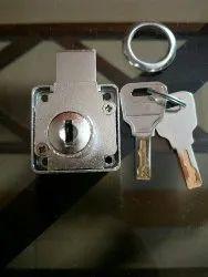 Cabinets Wave Key Lock, Chrome