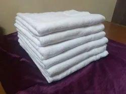Cotton Hotel White Terry Bath Towel