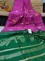 Handloom Handwoven Zari Weaving Jamdani Sarees