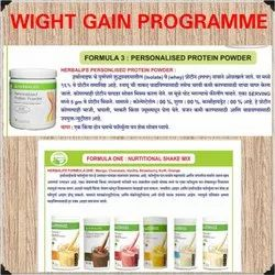 Weight Gain Programme Provide Withall Facilities