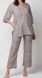 Female Cotton Night Suit