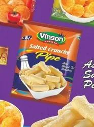 Vinson Fryums Salted pipe fryum, Packaging Size: 35 Grams