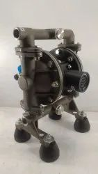 2 SS Air Operated Double Diaphragm Pump
