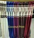 Silk Brown Designer Curtains, For Door