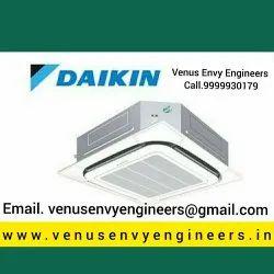 Cassette Air Conditioners Amc Service Delhi Ncr, Copper, Capacity: 2 Tons