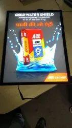 Acrylic LED Blackout Signage, Packaging Type: Carton Box, Shape: Square