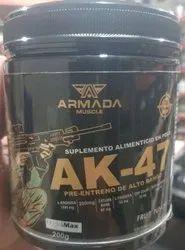Ak-47 preworkout energy suppliments, 200 Grm, Prescription