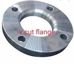 V Cut Flange