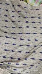 Cotton Red Ikat yarn dyed fabrics, 100